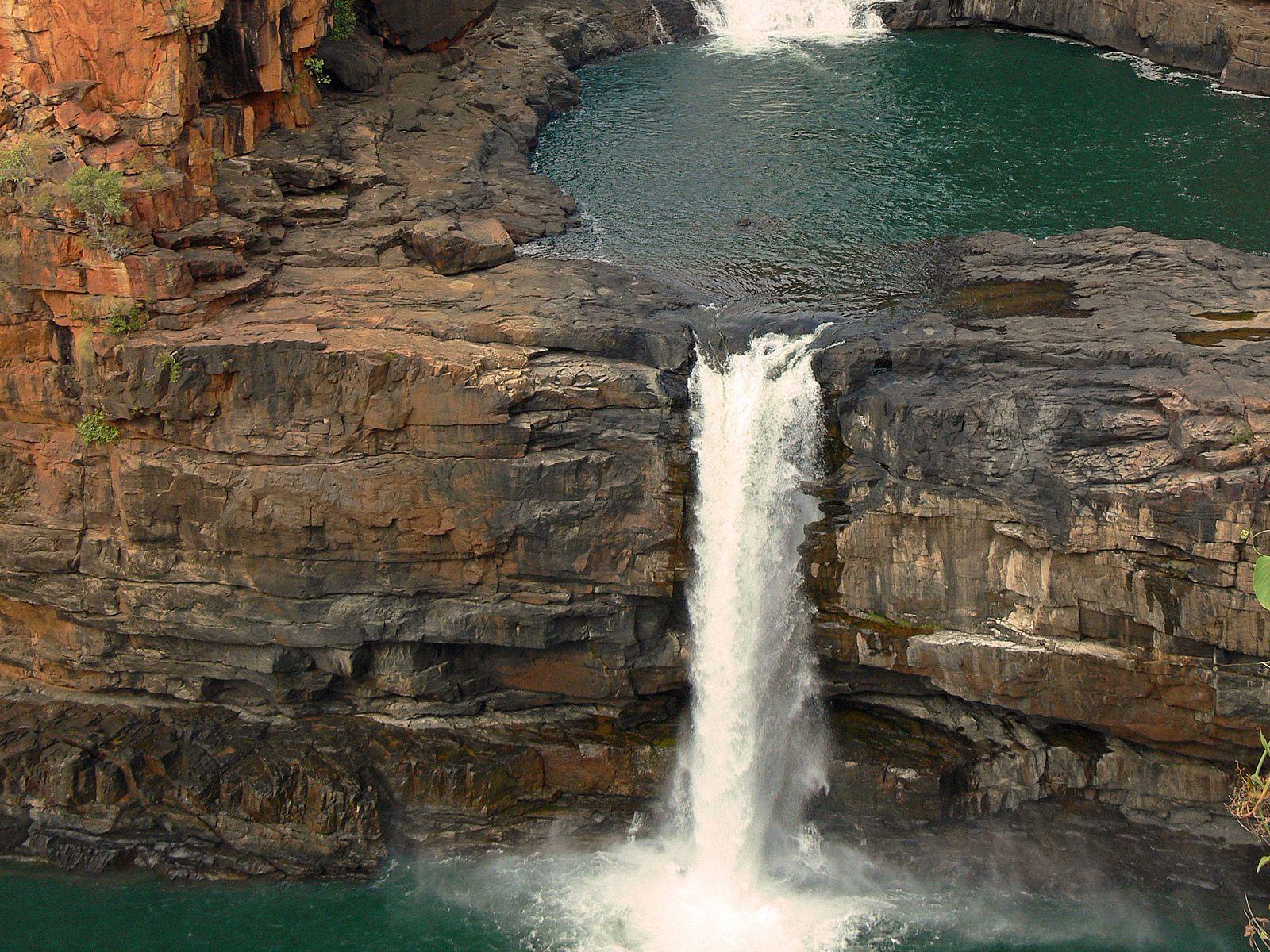 Нижний каскад водопада Митчелл