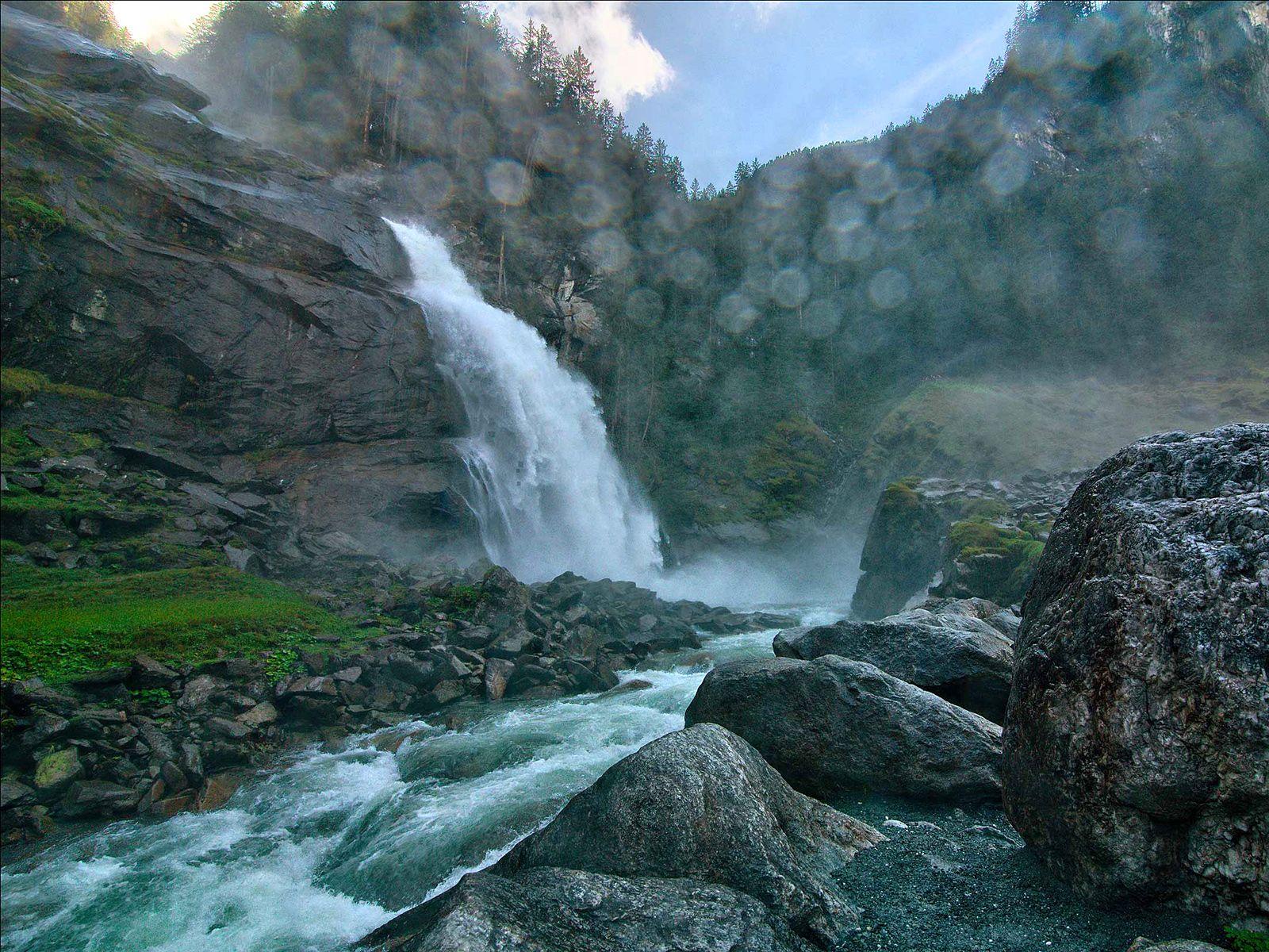 Водопад Криммлер вблизи