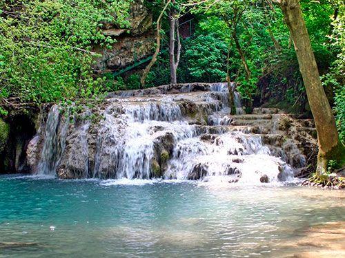 Крушунские водопады Фото1