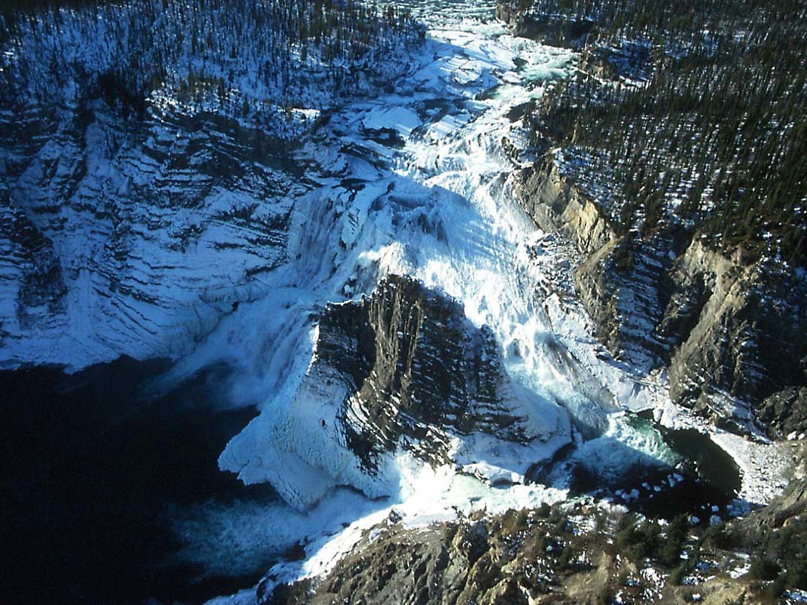 Водопад Вирджиния зимой