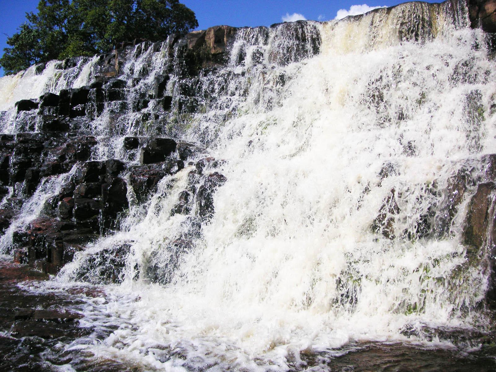 Водопад Ориндуик брызги