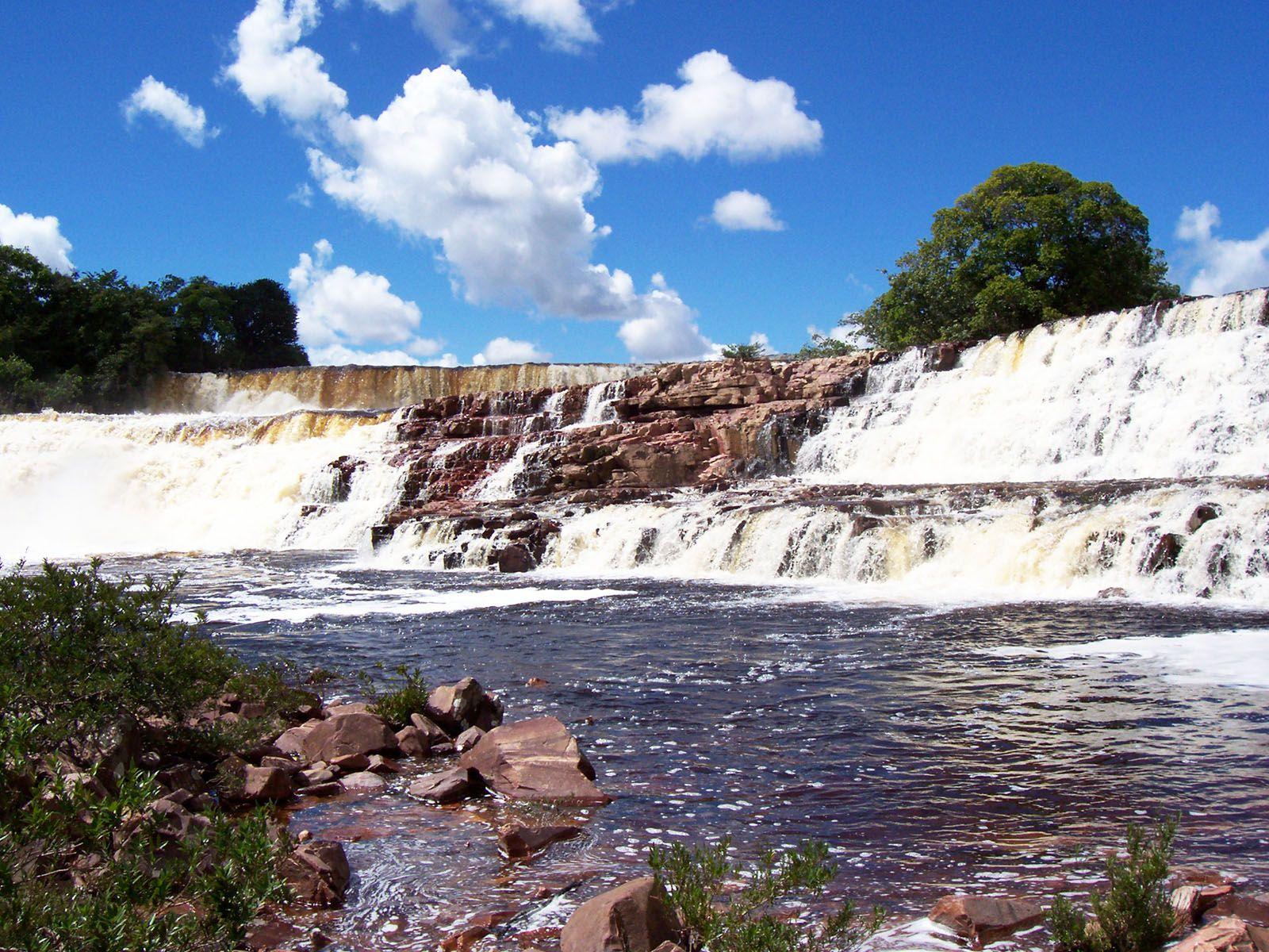 Водопад Ориндуик вблизи