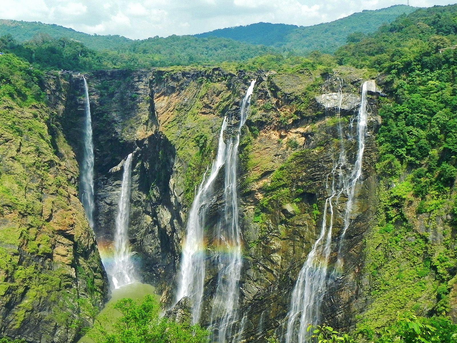 Радуга у водопада Джог