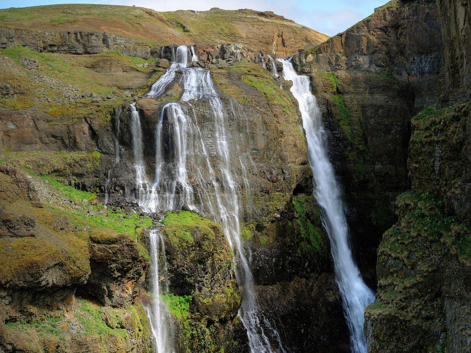 Водопад Глимур