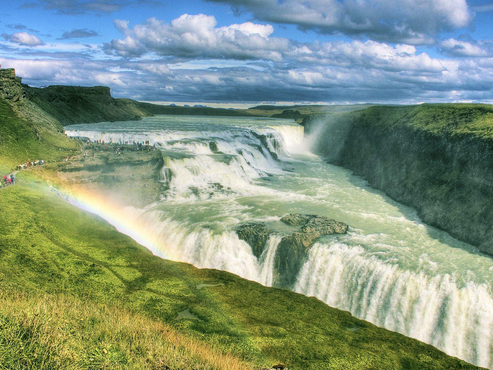 Водопад гюдльфосс gullfoss