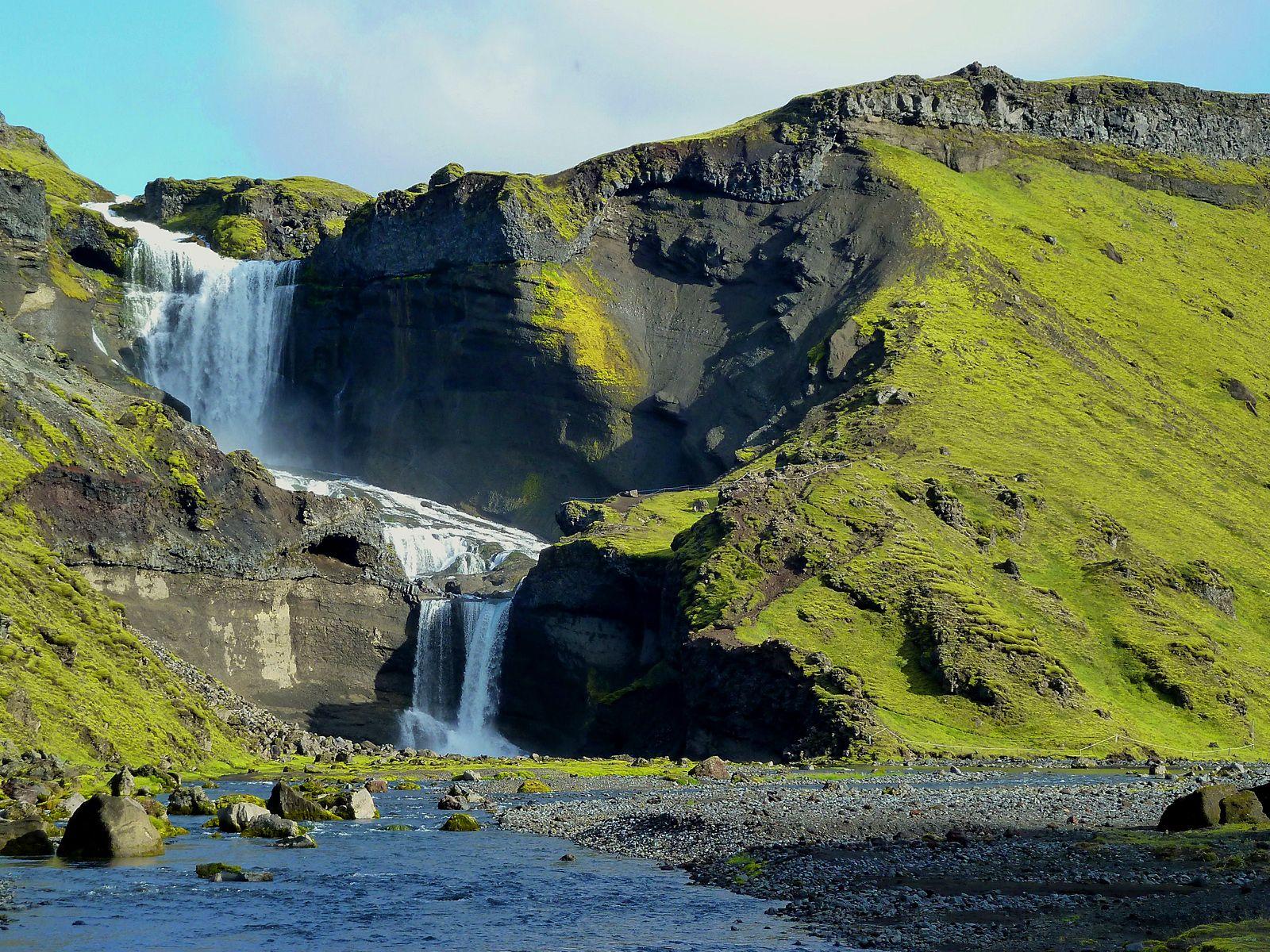 Водопад Оуфайруфосс