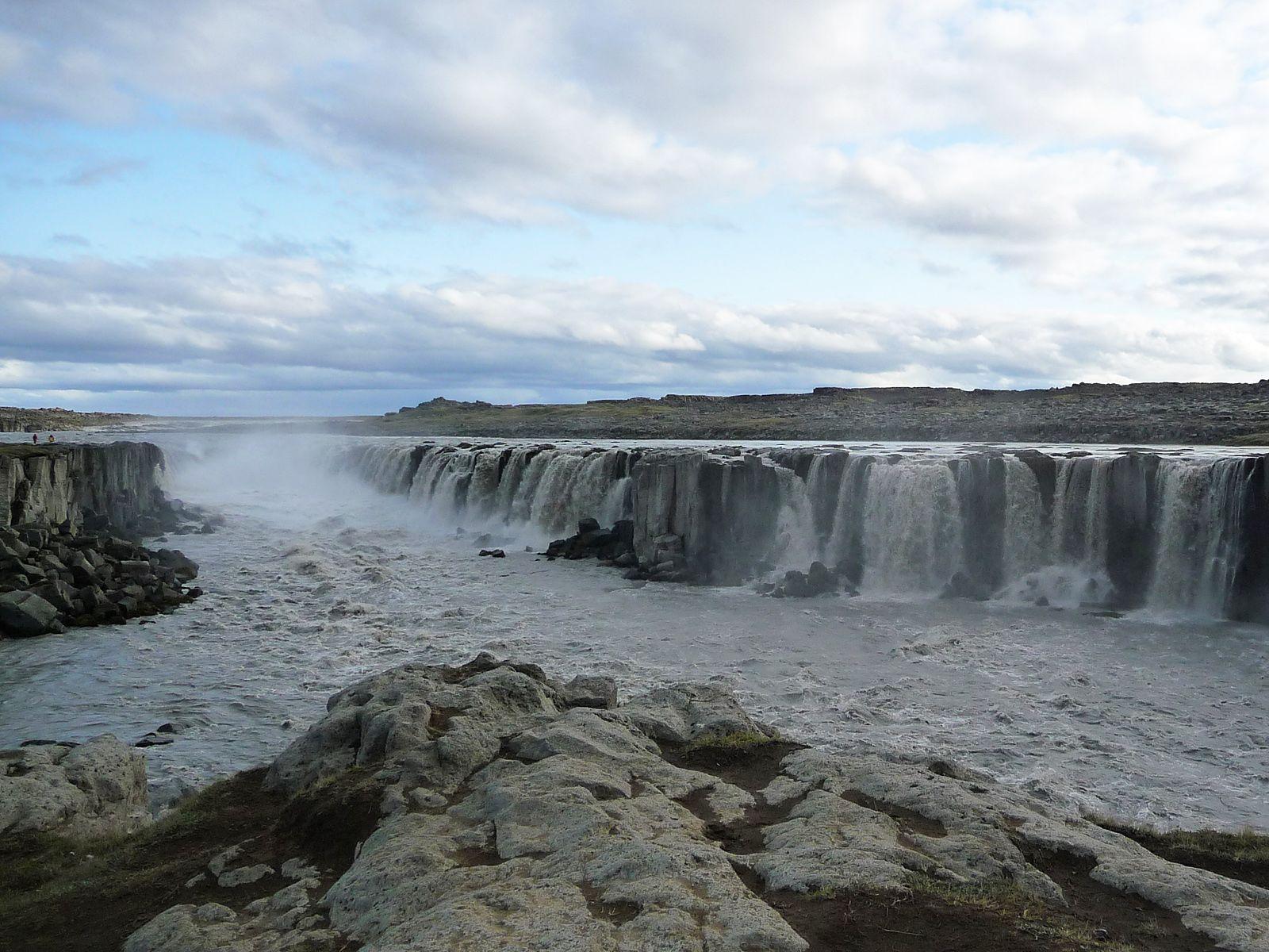 Пейзаж у водопада Селфосс