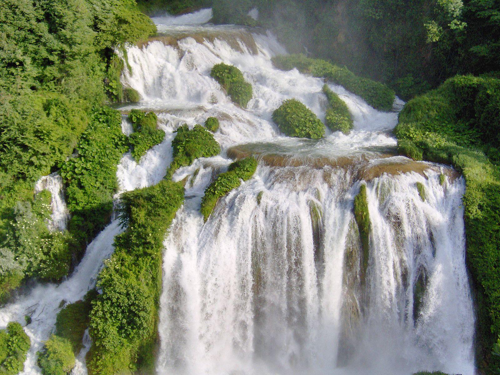 Каскад Мраморного водопада