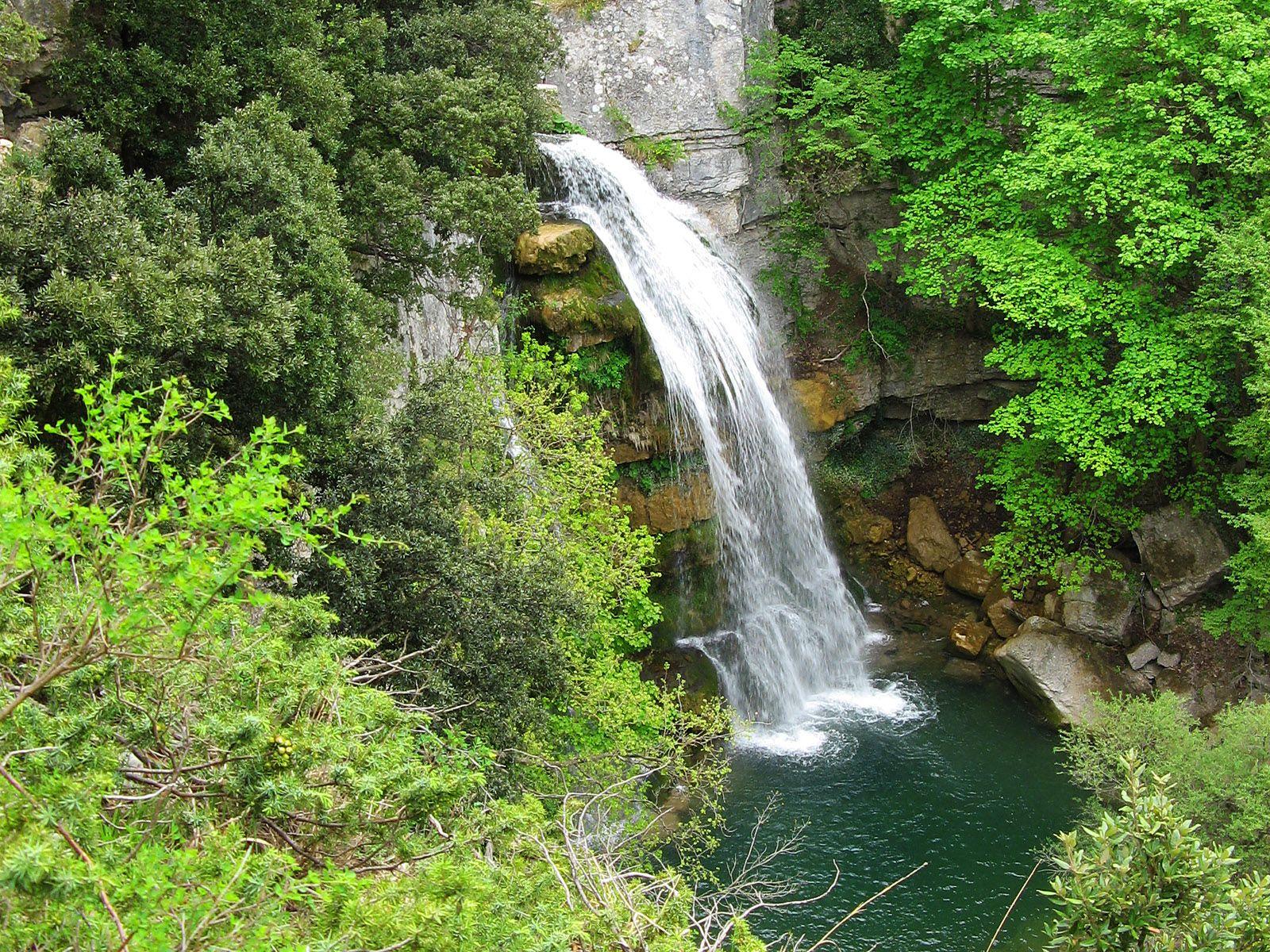 Водопад Рио Верде внизу