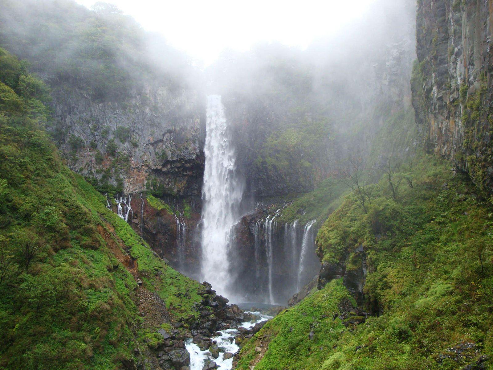 Туман над водопадом Кэгон