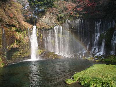 Радуга у водопада