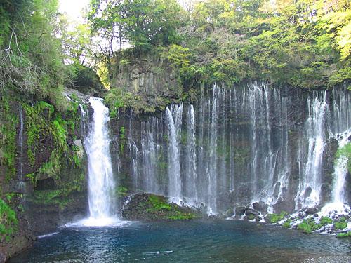 Водопад Шираито