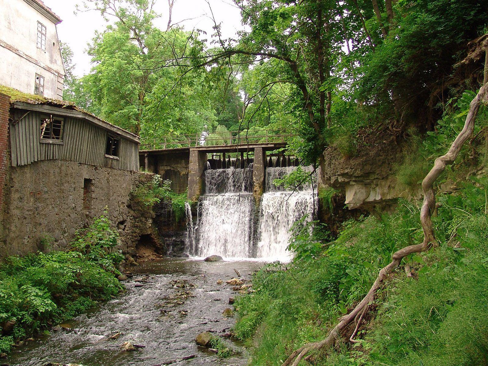 Кулдигский водопад
