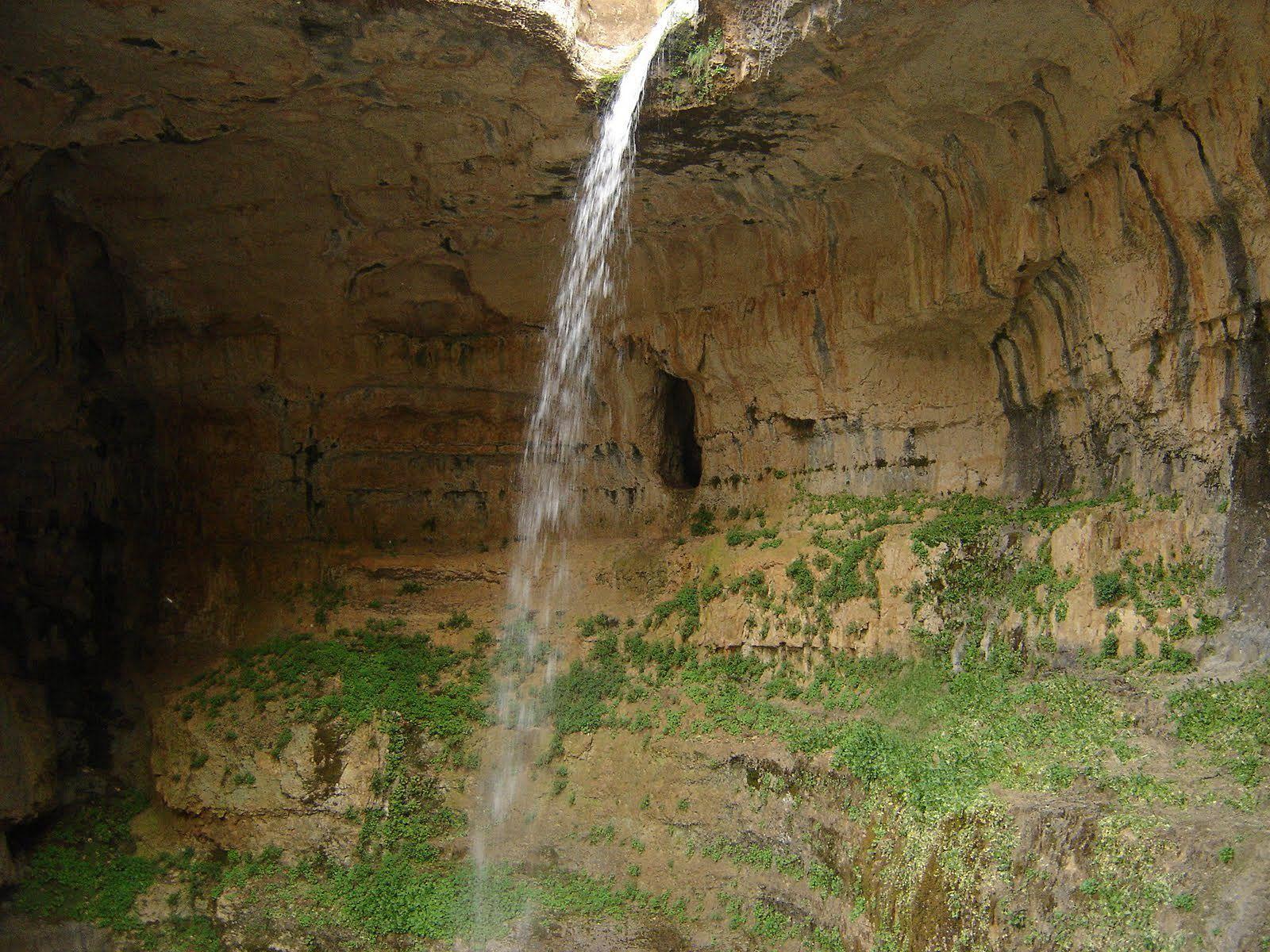 Пещера водопада Баатара