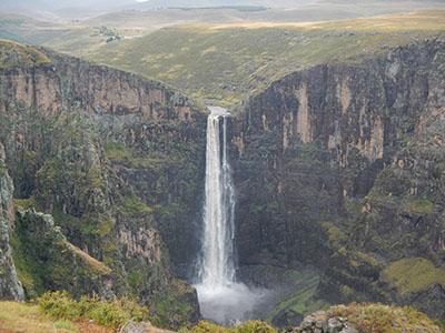 Водопад Малетсюнейане целиком
