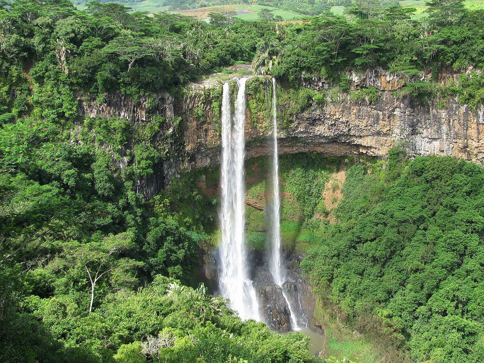 Тамарин. Водопад Шамарель