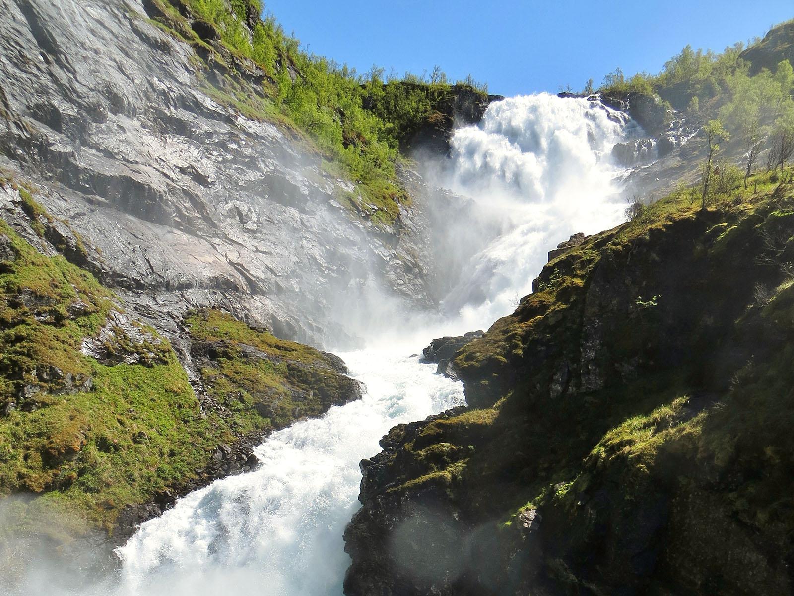 Устье водопада Кьосфоссен