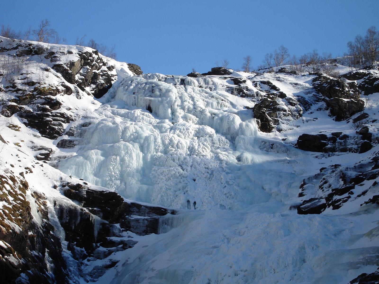 Замерзший Кьосфоссен