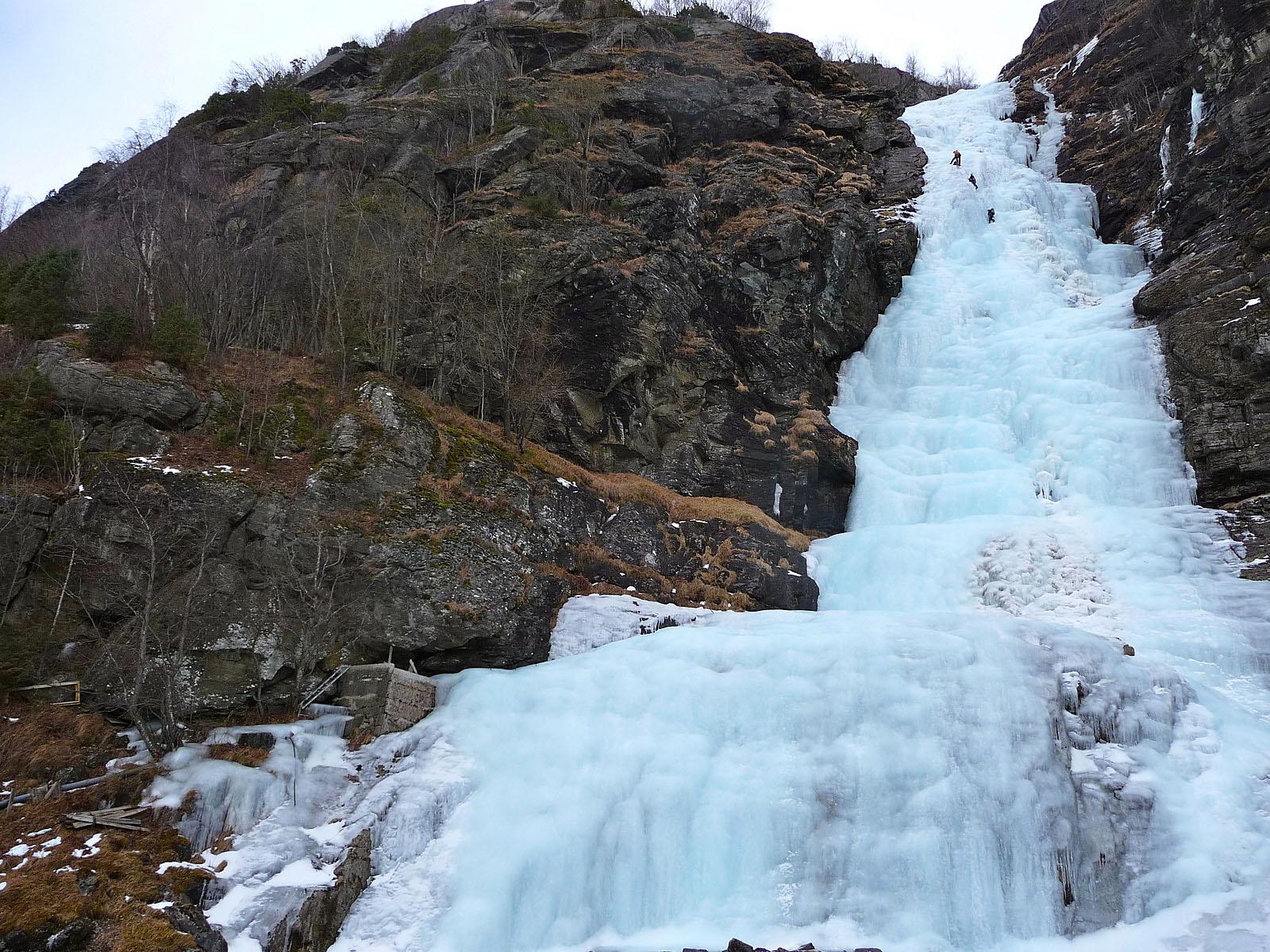 Замерзший Терлифоссен