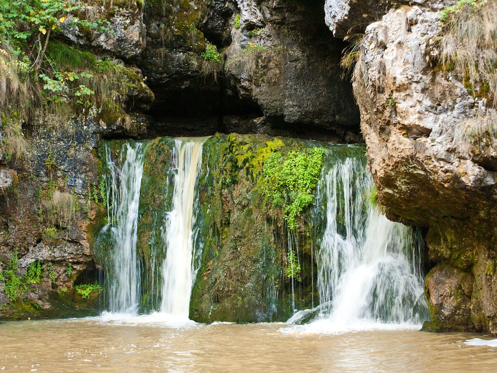 Водопад Атыш вблизи