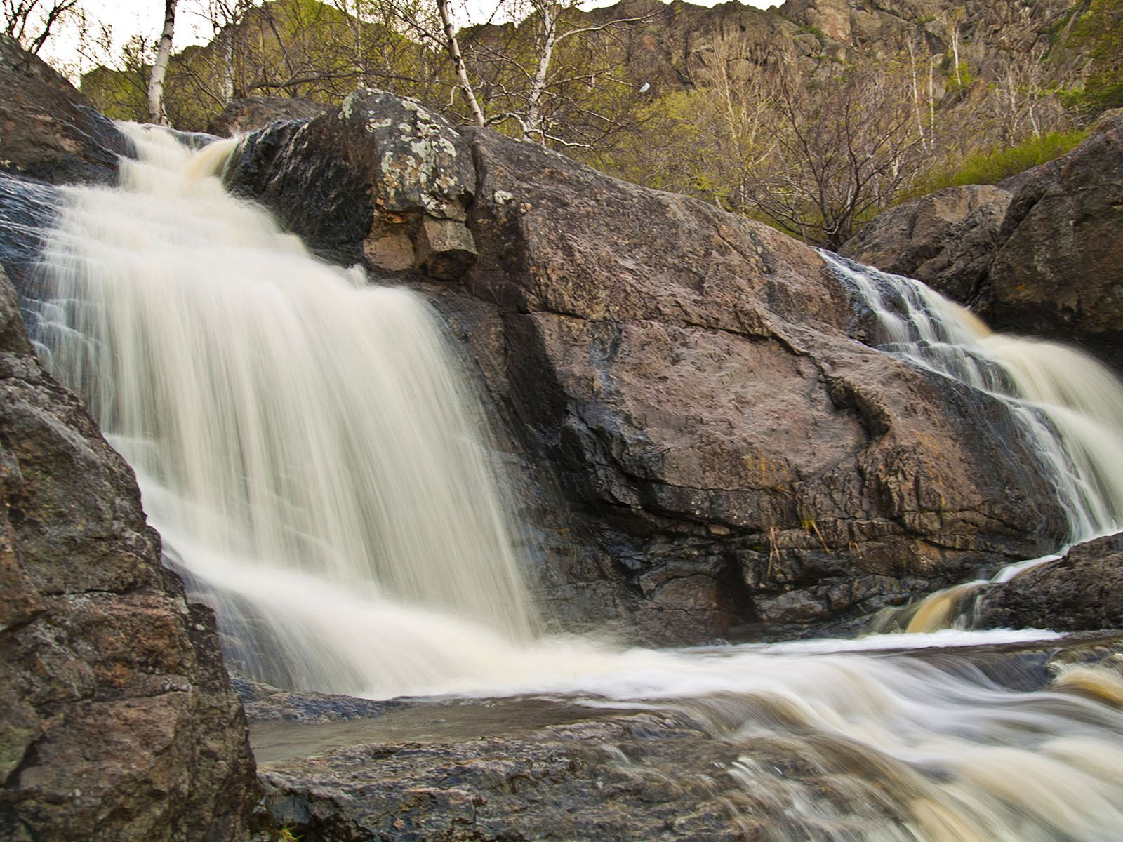 Пейзаж водопада Гадельша