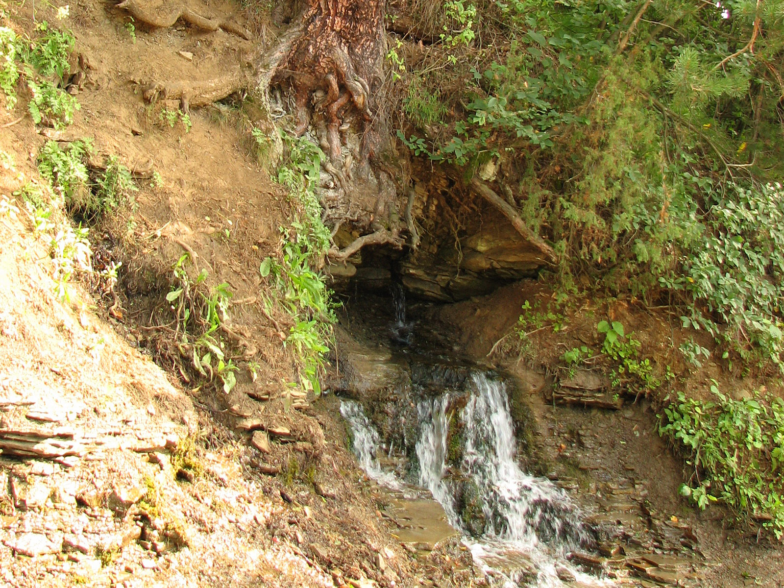 Источник водопада Плакун