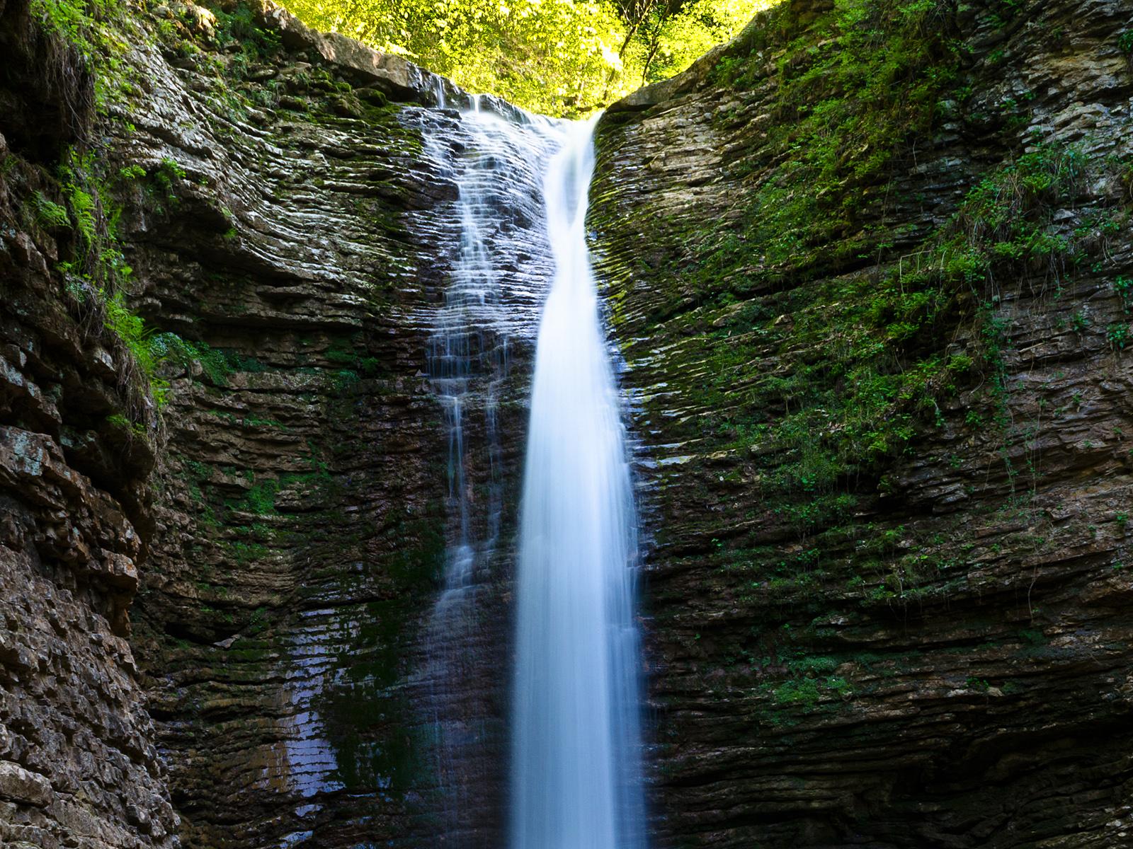 Водопады руфабго девичья коса сердце