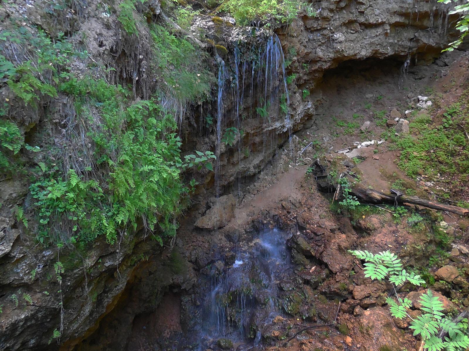 Водопад Серебряный каскад целиком