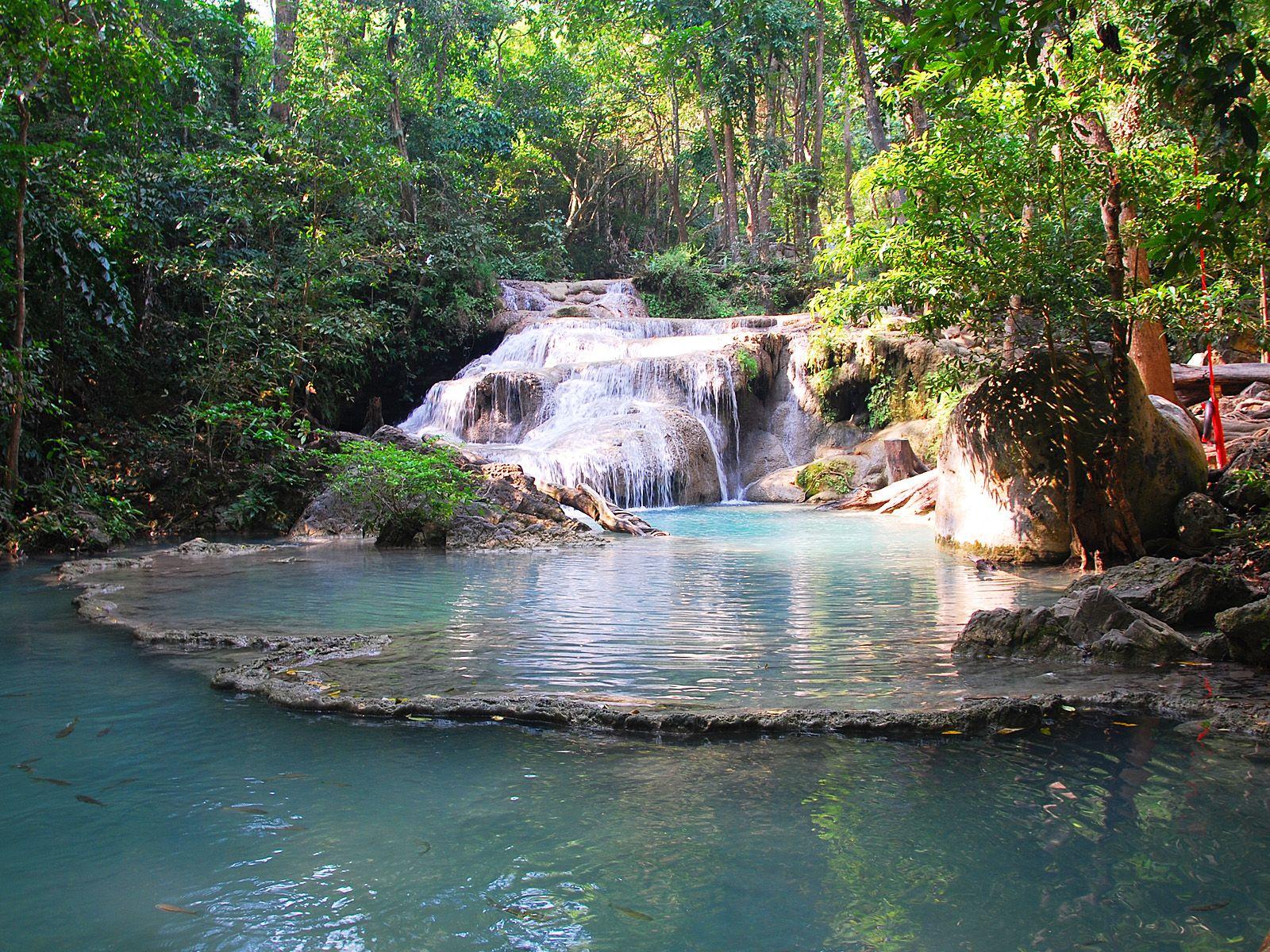 Тропа к водопаду Эраван