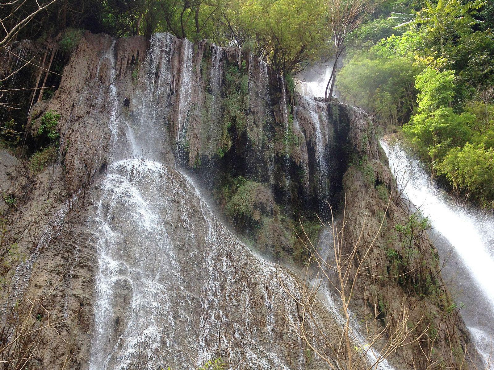 Водопад Ти Ло Су вблизи