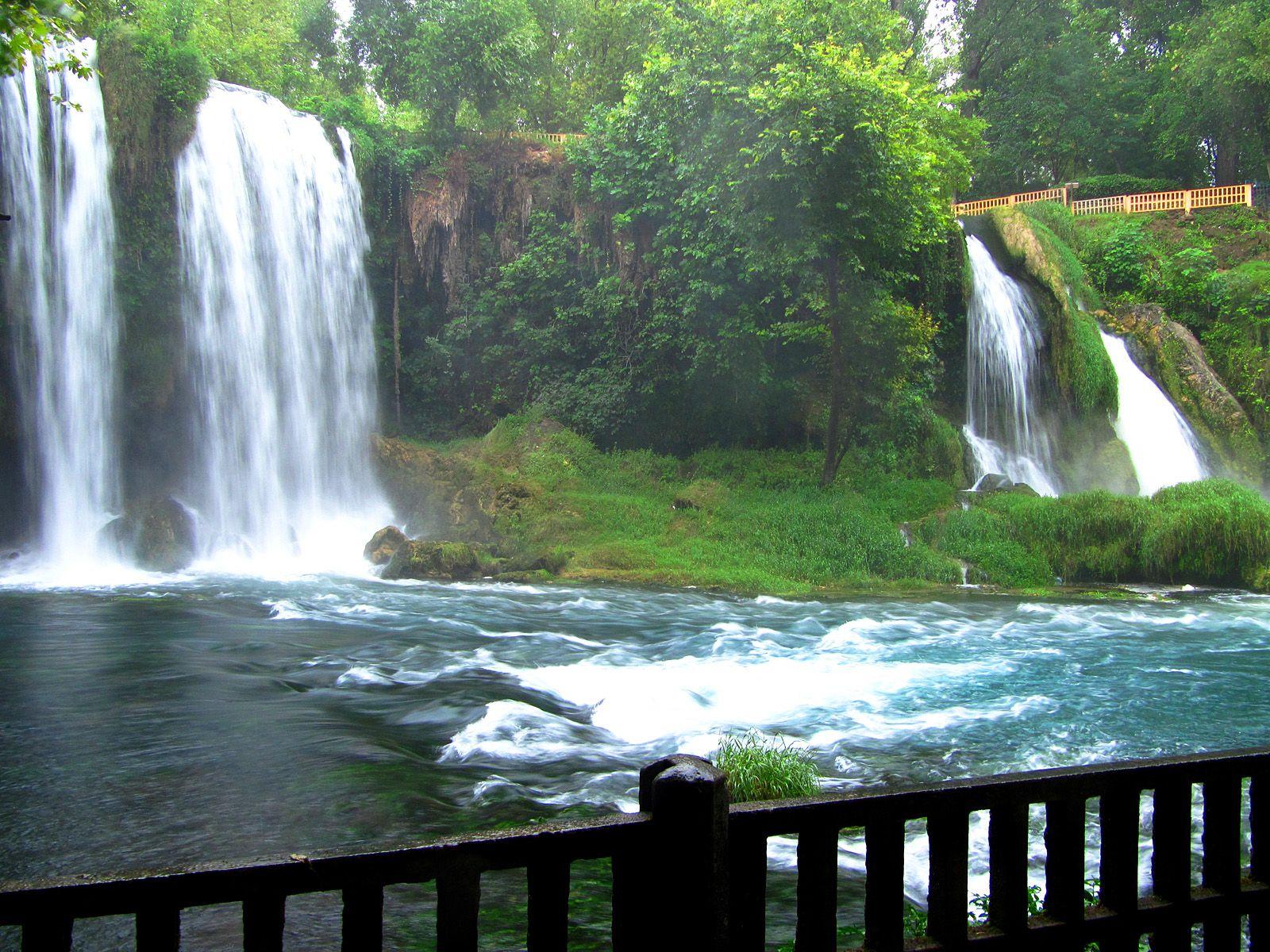 Водопад Дюден с моста