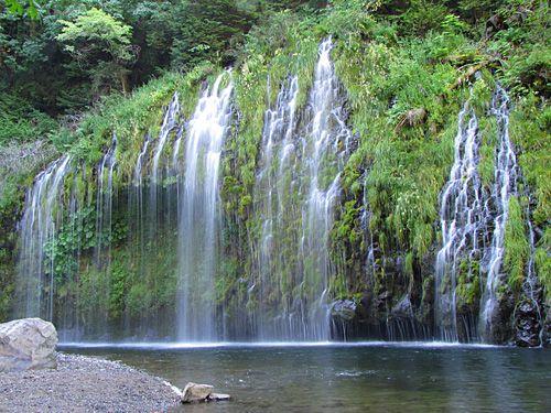Каскады водопада Мосбрай