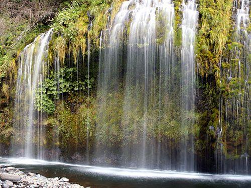 Струи водопада Мосбрай