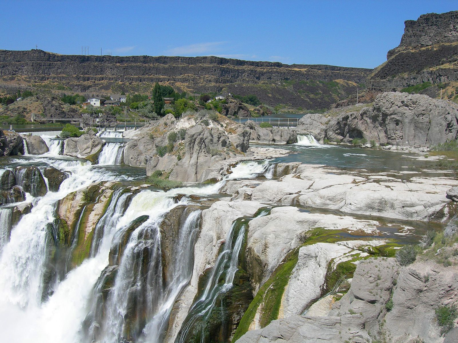 Водопад Шошони вблизи