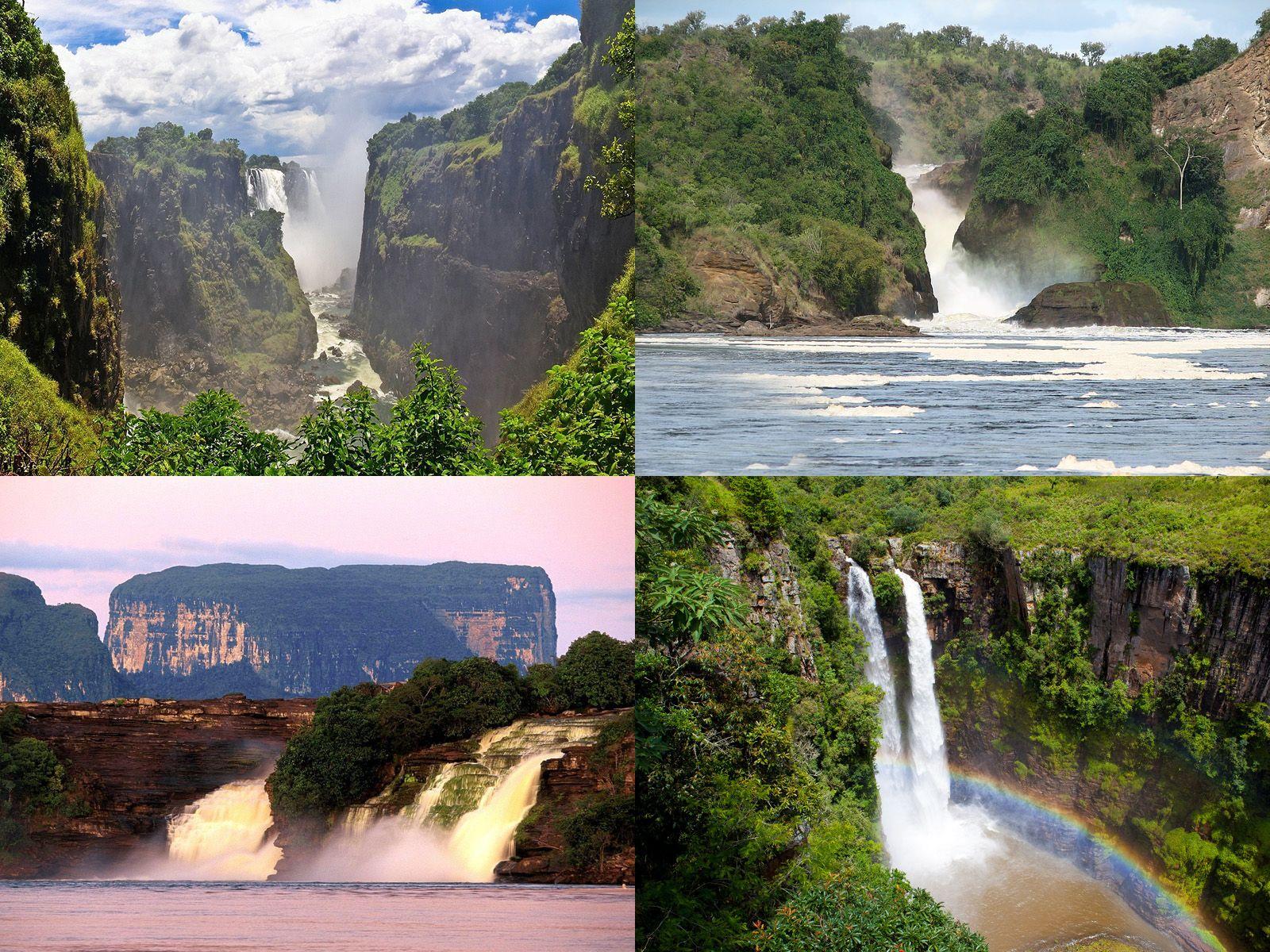 Водопады Африки