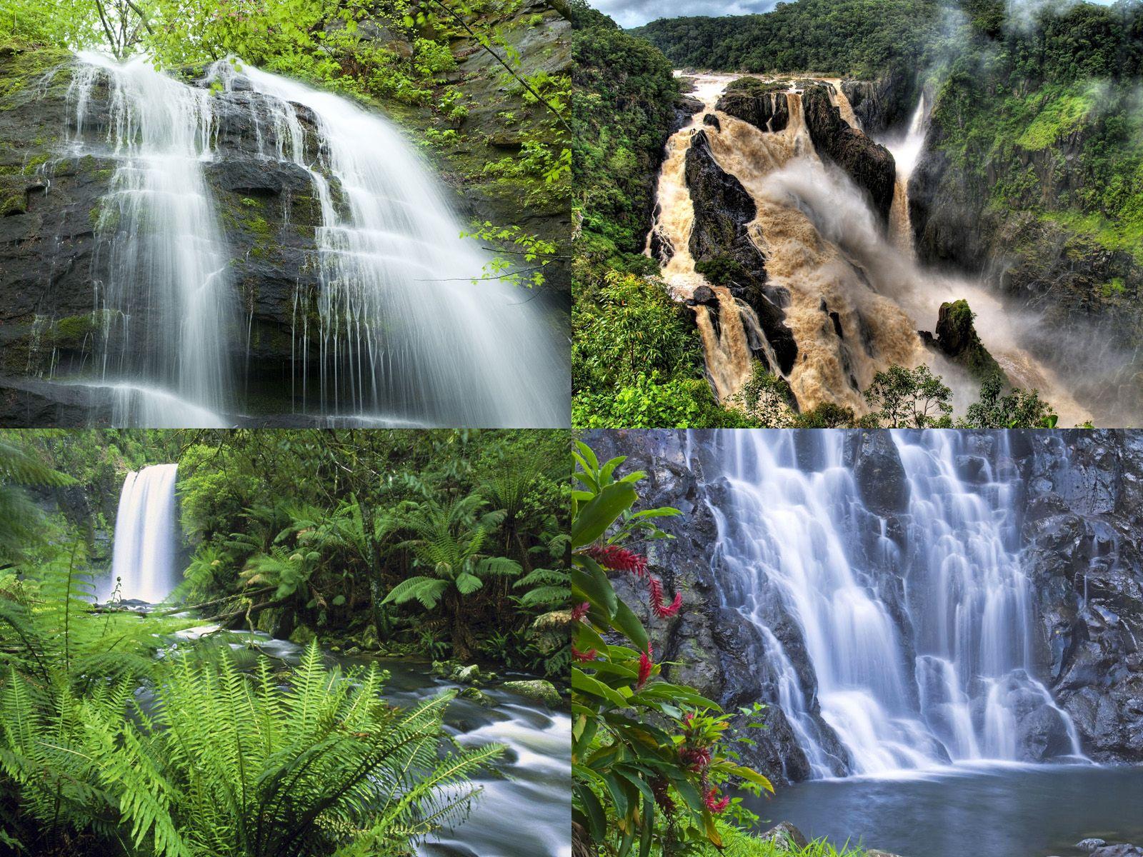 Водопады Азии