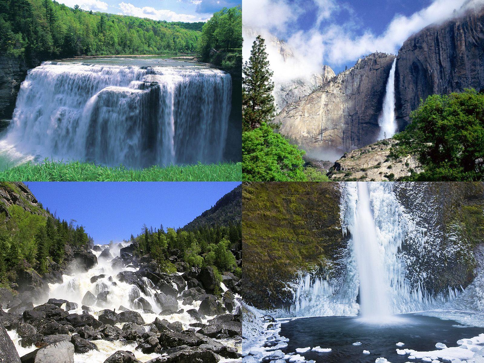 Водопады Европы