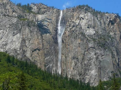 Водопад риббон ribbon fall йосемитский