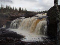 Водопад на реке Чапома