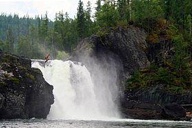 Водопад на реке Урик