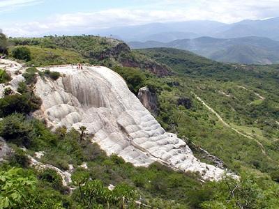 Каменный водопад Йерве эль Агу