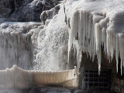 Китайский водопад Хукоу