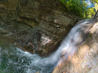 Малоизвестные Полковничьи водопады