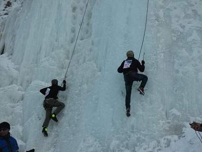 Открытый чемпионат Азербайджана по снеголазанию