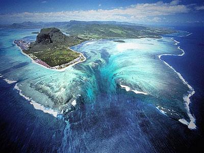 подводный водопад 1
