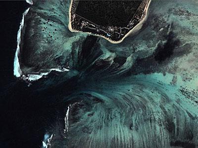подводный водопад 5