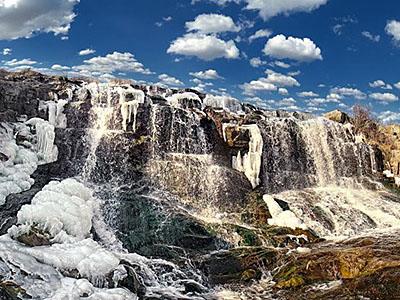 Криворожские водопады Белые камни